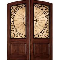Grille de façade pour les portes et autres constructions
