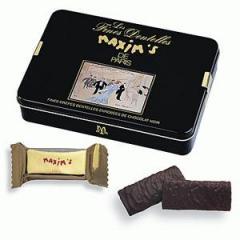 Boîte Crêpes Dentelles Chocolat Noir