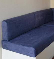 Tissu cosy bleu