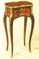 """Guéridon de style Louis XV """"Reproduction LATZ"""" - Réf. 76"""