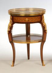 Guéridon de style Louis XV d'après RVLC - Réf. 7500