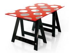 Tables en acril