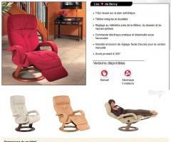 Fauteuils de relaxation > Ligne Contemporaine EVERline > BERCY