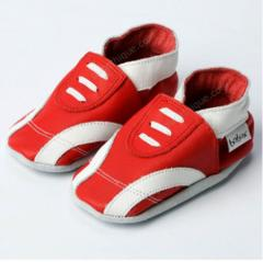 Chaussons BOBUX Sport rouge/blanc