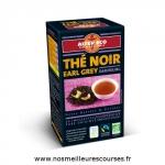 Thé Noir Earl Grey Darjeeling bio et équitable 40g (20 sachets) Alter Eco
