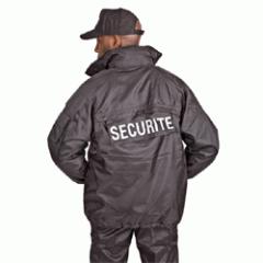 Coupe Vent Securite Noir