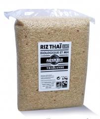 Riz 5kg Thaï Brun Complet bio et équitable Sac de 5 kg - Temps de cuisson : 30 minutes Alter Eco