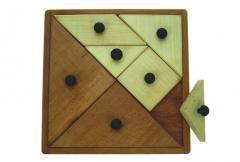 Jeux-casse-tête  Grand tangram boutons
