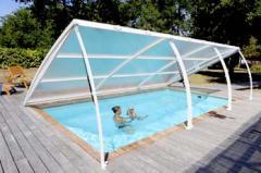 Abri bas de piscine amovible tout-terrain -