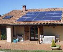 Micro-centrale photovoltaïque