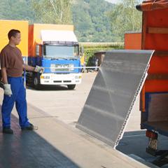 Pont de chargement aluminium Altec : TYPE SKB