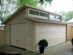 Garage Panama - Ce garage en bois Panama est le