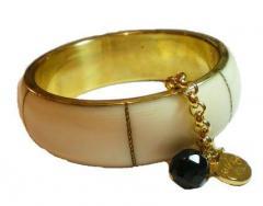 Bracelet Kumari Blanc Marine en Rupture