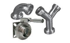 Raccords et robinetterie pour les équipements