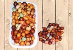 Les fruits exotiques.  Mélange japonais vrac
