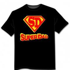 T-shirt Super Dad
