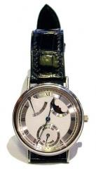 Bracelet de montre Alligator noir