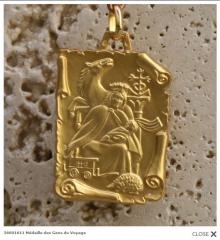 Médailles OR > Médailles des Saintes >