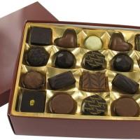 Ballotin de chocolats fourrés