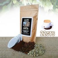 Café 100% purs arabica en dosettes souples x 18