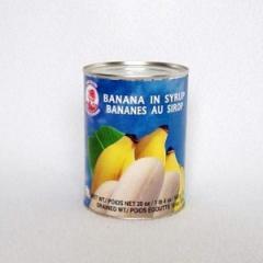 Bananes au sirop cock