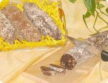 Gâteau le saucisson d'Auvergne