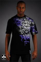 Hip Hop Tee Shirt Rumble tag 2 Vandale - Tee Shirt
