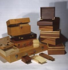 Coffrets en bois