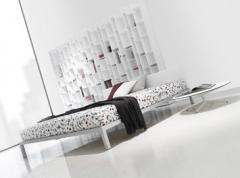 Lit aluminium beds soft