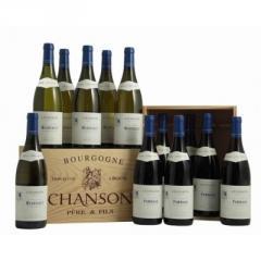 Coffret Charlemagne de vins Bourgogne