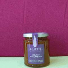 Confiture abricot amandes Juliette Serrail