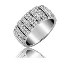 Bagues Diamant > Nefertiti 2