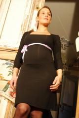 Robe Menthe noire