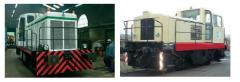 Locotracteurs pour la manutention des wagons