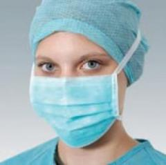 Masque Handymak Bleu 3Plis