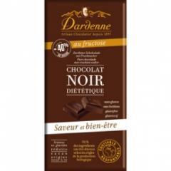 Tablette chocolat noir fructose - Référence : DAR001