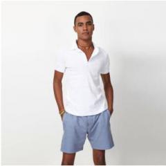 Polo homme Sergio manches courtes blanc
