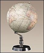 Globe Art déco 1887
