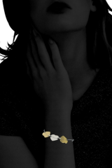 Bracelet cordon My Hearts