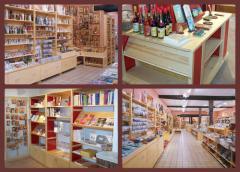 Aménagement  de magasins d'abbaye