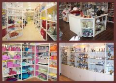 Aménagement  de boutiques déco
