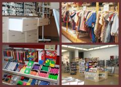 Aménagement de magasins loisir créatif, lieux culturels