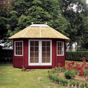 Maisonnette Madeira Grand avec toit en paillon