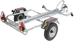 Trailer Moto PM 310 1 rail, en Kit