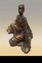 Sculpture de bronze