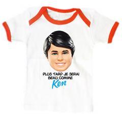 Tee shirt Bebe Ken Beau comme Ken