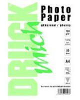 Papier Photo Brillant 50 feuilles A4 180g/m