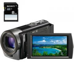Caméscope à carte mémoire HD Sony hdr-cx130 + sd