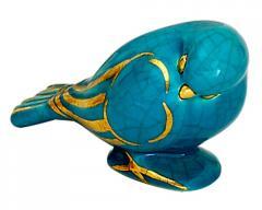 Oiseau dormant uni et or