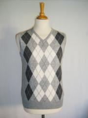 Pull en laine à enfiler
